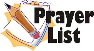 Prayer List