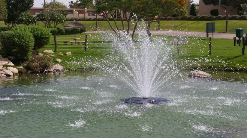 Oh, the beauty of fountains!